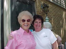 Hostess Pat Bone with daughter Shelly. (Lewis Church / Courtesy photo)